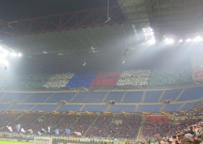 2019_02 Mailand: So singt man Italiener aus dem Stadion